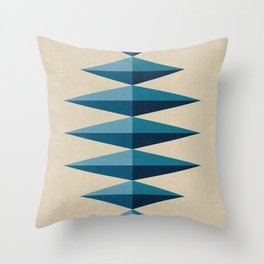 Modern Geometry XV Throw Pillow