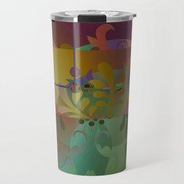 Retro Kimono Travel Mug