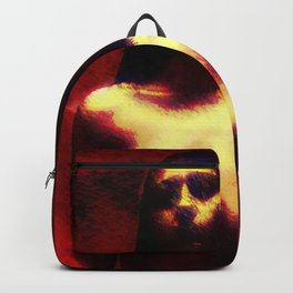 "NUDE ""walk in red"" Backpack"
