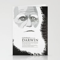 darwin Stationery Cards featuring Darwin by James Northcote
