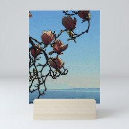 Magnolia Sea View Mini Art Print