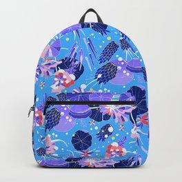 In Bloom Flower Print Backpack