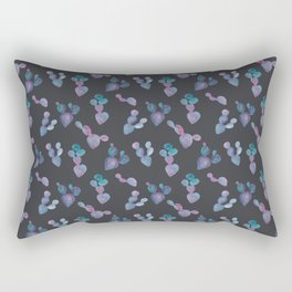 Prickly Pear in Purple Rectangular Pillow