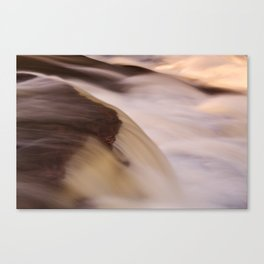 Swallow Falls Close-up Canvas Print
