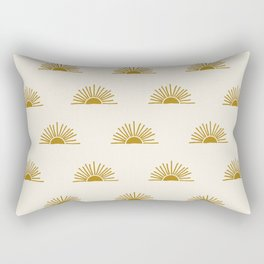 Sol in Natural Rectangular Pillow