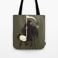 death note Tote Bags featuring Death Note {Light Brown} by Tobe Fonseca