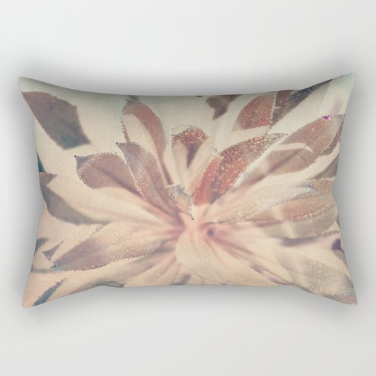 Vintage agava. Rectangular Pillow