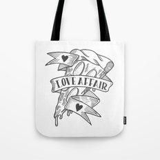 PIZZA LOVE AFFAIR Tote Bag