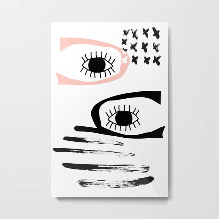 Catch your eye Metal Print