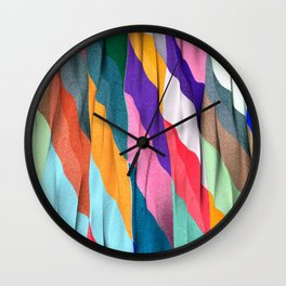 Timeless Texture Wall Clock