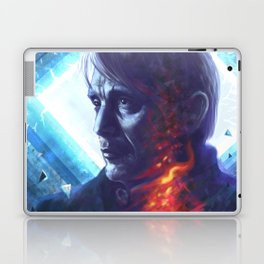 Wounded smoke Laptop & iPad Skin
