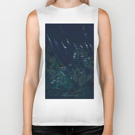 """""""Conquest of the Useless"""" by Werner Herzog Print (v. 6) Biker Tank"""
