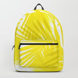 Palms Yellow Backpack