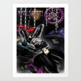 Monika Art Print