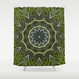 The Cog Shower Curtain
