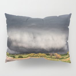 Tornado Day - Storm Touches Down in Northwest Oklahoma Pillow Sham