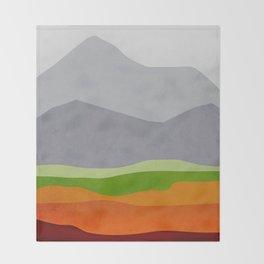 Mountains 10 Throw Blanket