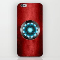 iron man iPhone & iPod Skins featuring Iron Man Iron Man by ThreeBoys
