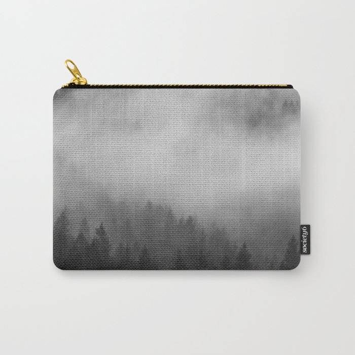 Foggy Forest Carry-All Pouch