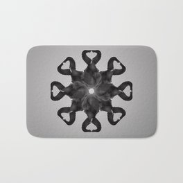 Abstract Elephant Phases Bath Mat