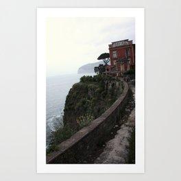 Cliff Circuit Art Print