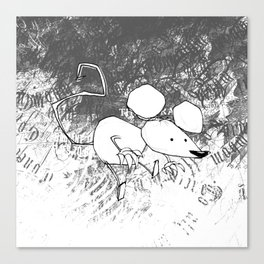 minima - deco mouse Canvas Print