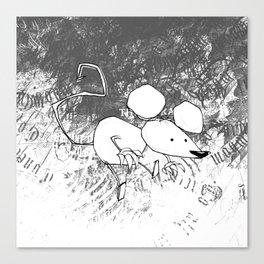 minima - deco mouse Canvas Print