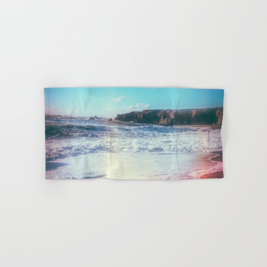 California Sunshine Waves Hand & Bath Towel