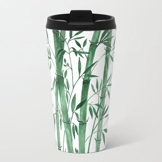 Bamboo 1 Metal Travel Mug