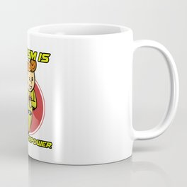 Autism Is My Superpower Awareness Day Support Gift Coffee Mug