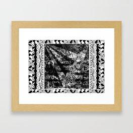 Tiger and stuff Framed Art Print