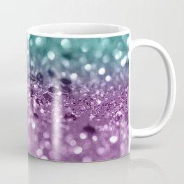 Aqua Purple MERMAID Girls Glitter #2 #shiny #decor #art #society6 Coffee Mug