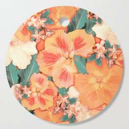 Aloha Orange Sherbet Cutting Board