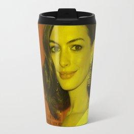 Anne Hathaway - Celebrity Travel Mug