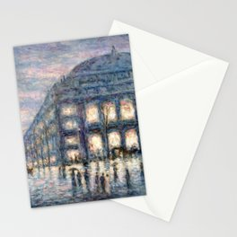 View of the Theâtre du Châtelet by Maximilian Luce Stationery Cards