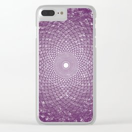 The Crown Chakra Clear iPhone Case