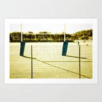 rugby Art Prints featuring Rugby by Sébastien BOUVIER