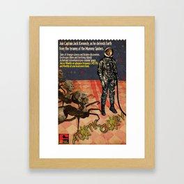 Atomic Glory Poster Framed Art Print