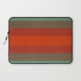 Rust Turquoise Spice - Color Therapy Laptop Sleeve