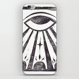 Clarity (White) iPhone Skin