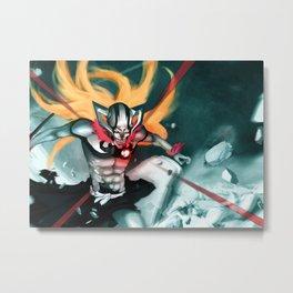Bleach Metal Print