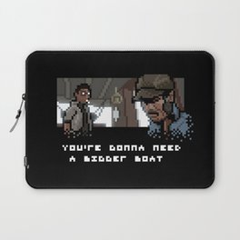 Smile You Son of a Pixel! Laptop Sleeve