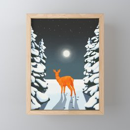 Winter Woods Framed Mini Art Print