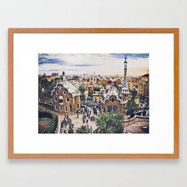 BARCELONA CATALUÑA Framed Art Print