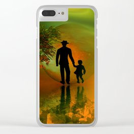 .... and I must go Clear iPhone Case