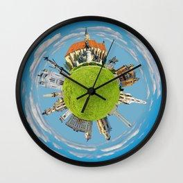cluj napoca little planet Wall Clock