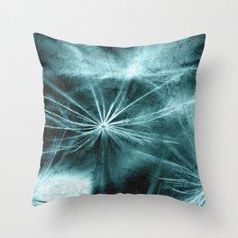 Dandelion Art Picture Throw Pillow