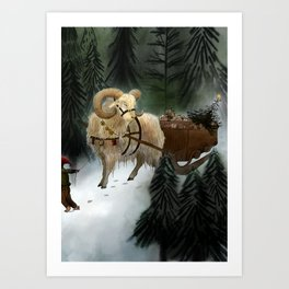 julebukk Art Print