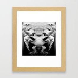 symmetry \\ #DEMON Framed Art Print