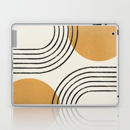 Sun Arch Double - Gold Laptop & iPad Skin